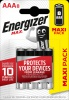 ENERGIZER MAX AAA 4+4 Akce